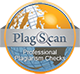 Plagscan button
