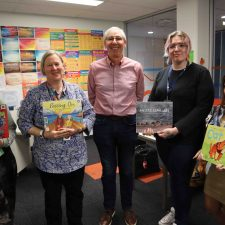 Book Week was Pumped Out with visit from children's author