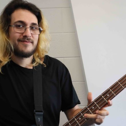 Music was the gateway to education for NASC student